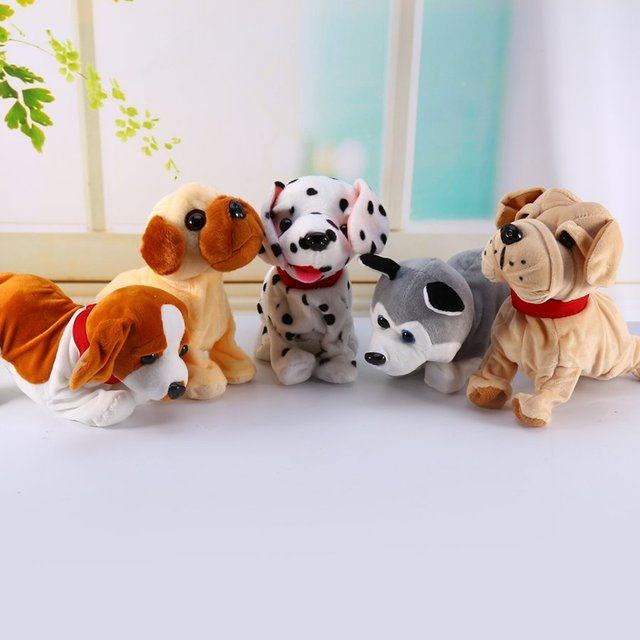 Sound Control Electronic Dogs Pets Lovely Walk Cute sloth Interactive Electronic Pet Dog For Kids Baby plush Toys for children