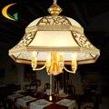 all-copper vintage lamp Led pendant lamp bedroom light restaurant Led pendant lights simp living room pendant lighting