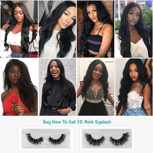 Image 5 - ALI GRACE Hair Brazilian Body Wave Lace Frontal 13X4 Ear To Ear Free Middle Part 100% Remy Human Hair Medium Brown Lace Frontal