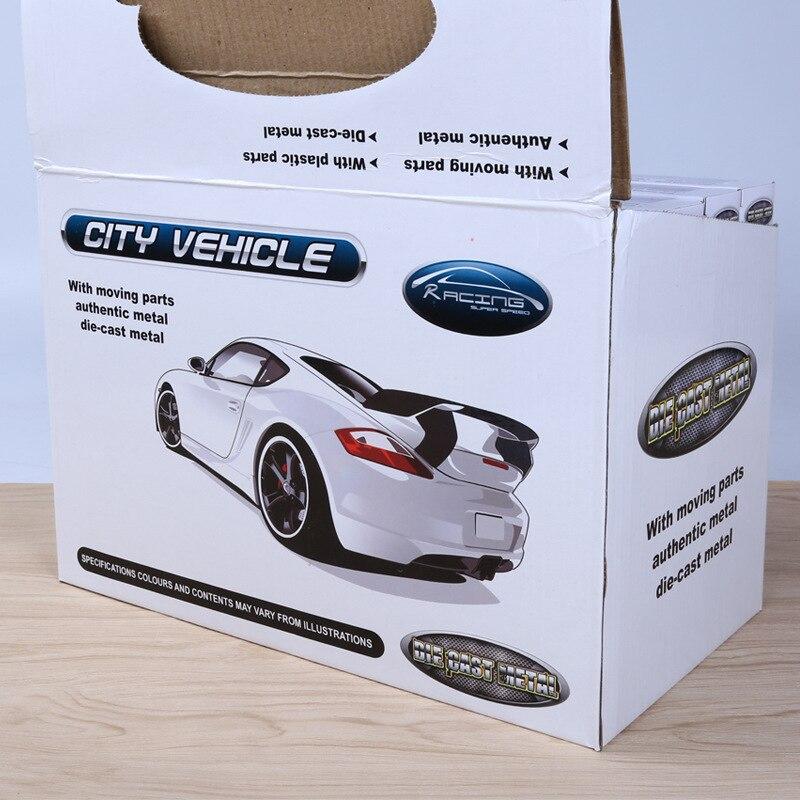 2018 Nuevo 1 unids Modelo Q Mini Coche de Aleación de Bolsillo - Vehículos de juguete para niños - foto 4