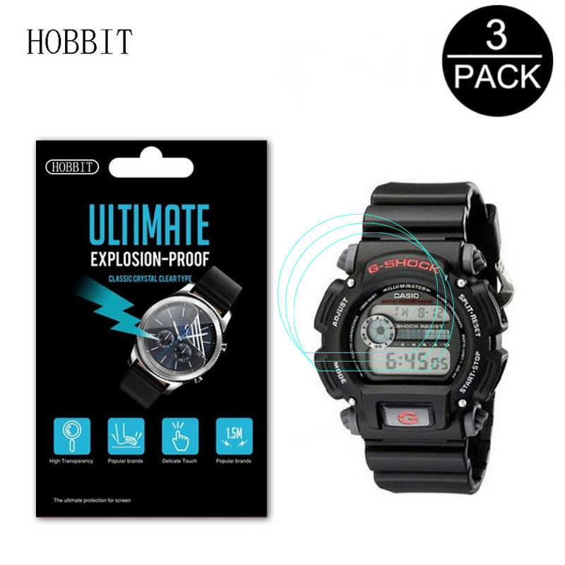 3PACK For Casio DW5600 DW6900 Nano Explosion-proof Screen Protector Sport 5600E Watch LCD Film