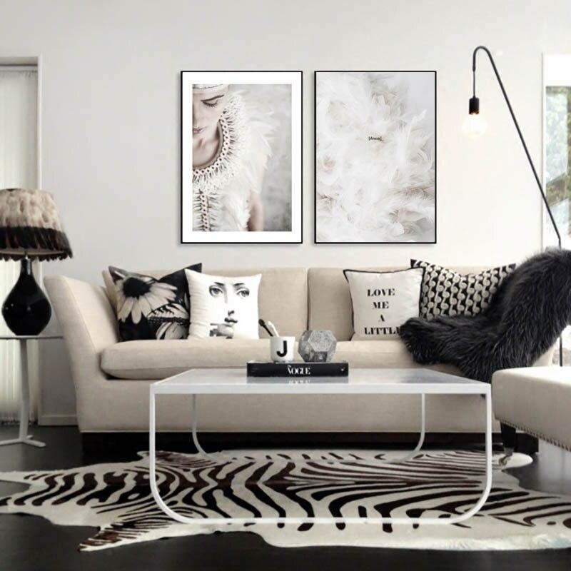 Черно белые постеры фотографии в интерьере