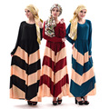 Бесплатная доставка Ближний Восток дамы djellaba Мусульманских женщин платье Исламский абая для Арабских женщин традиционная одежда халат
