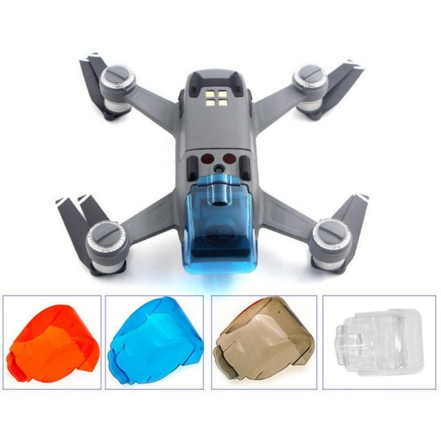 Camera Lens Cover Cap Protectors Gimbal Mount Holder for DJI Drone Parts Transportation Guard Dust Proof Plastic Cover