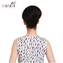 SARLA/1 шт., высокотемпературные синтетические волосы, булочка, свадебные волосы, большие шиньоны, шиньоны, шиньоны на заколках, булочка для наращивания, Q9