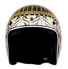 цена на Motorcycle Helmet Motorcycle Scooter 3/4 Open Face halmet Motocross Vintage Casque Moto Casque Casco Motocicleta Capacete