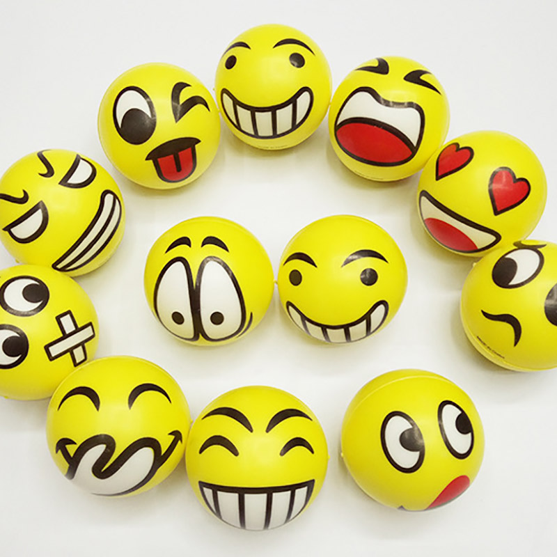 Squeeze Face head laugh cry angry game Squishy toy Stress relieve Fun ball Gift