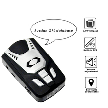 Luturadar 2 in 1 GPS Laser radar detector 360 Degree Auto Detect Anti Police fixed camera/flow Speed Gun Radar Detector