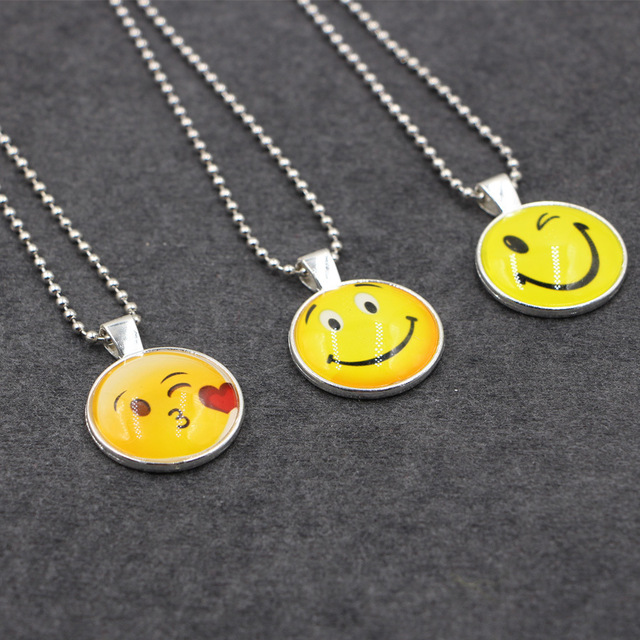 South korea soft meng harajuku cartoon yellow smiley face collar south korea soft meng harajuku cartoon yellow smiley face collar choker necklace emoji face necklace aloadofball