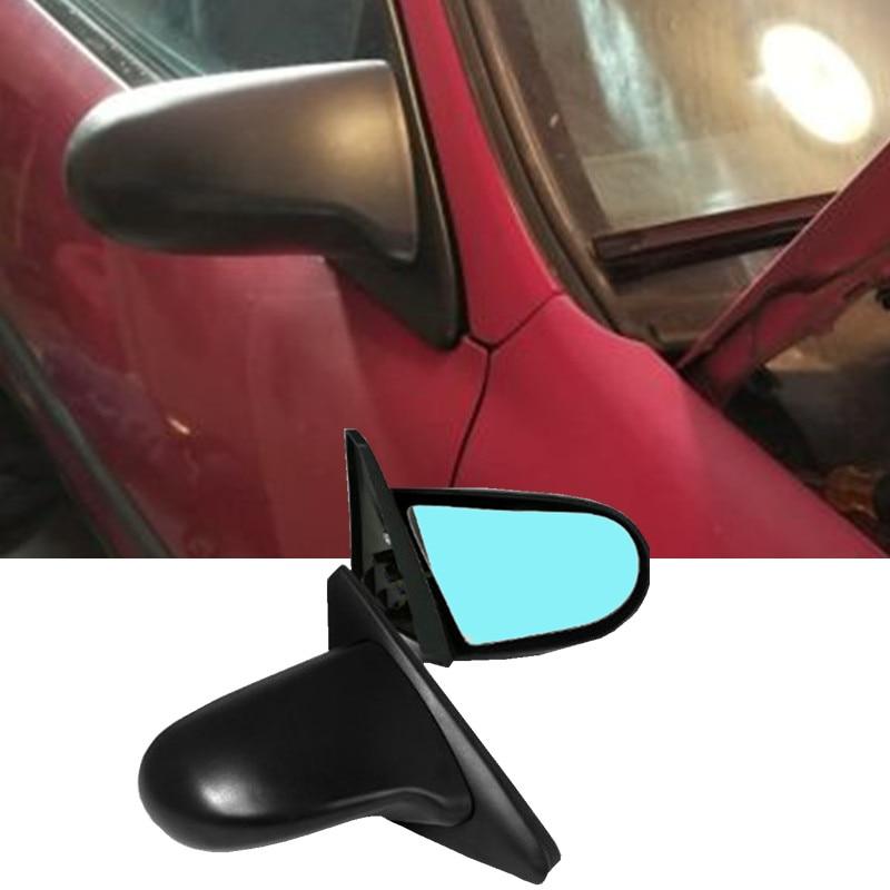SPN Style Rétroviseurs ABS Noir (Puissance) 1992-1996 PAR EXEMPLE 1996-2000 EX 4dr (Convient à: Honda Civic)