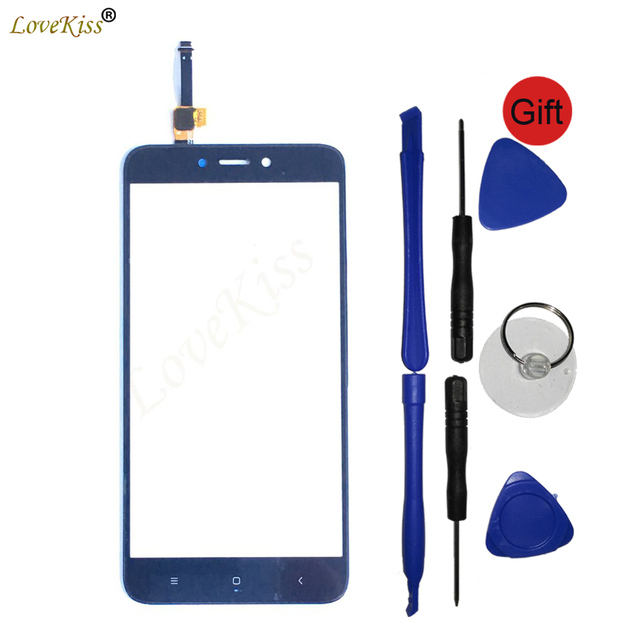 Redmi 4X Touchscreen For Xiaomi Redmi 4 Pro Prime 4Pro 4X Touch Screen Sensor LCD Display Digitizer Front Panel Glass Cover Tool