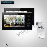 HOMSECUR 7 проводной Hands free видео и аудио домашний Интерком с Российской логистики