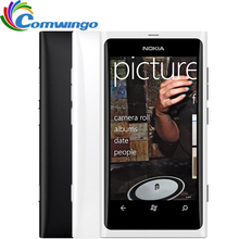Nokia lumia 800 odblokowany oryginalny telefon 3g smartphone 8mp aparat odnowiony windows mobile phone free shipping