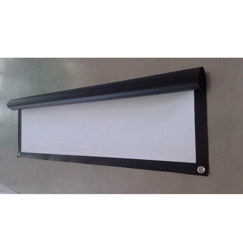 Wall Mounted Front Projection Screen 1 2 3 4 5 6 7