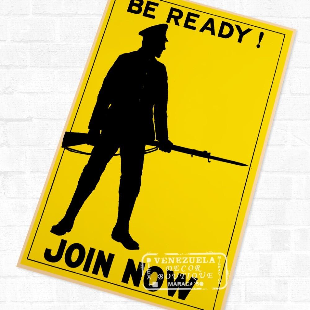 Join Football Battalion History WWI WW1 Propaganda Poster Vintage ...