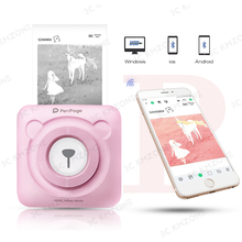 Беспроводной Bluetooth карманный мобильный фотопринтер портативный принтер POS термопринтер фото принтер для Android iOS Телефон GZM5804