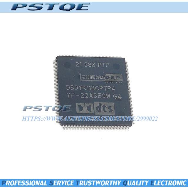 1 ชิ้น 2 ชิ้นสต็อกD80YK113CPTP4 D80YK113 D80YK113CPTP QFP