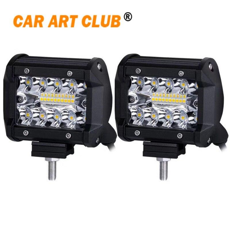 4 дюймов пятно Наводнение Combo Луч светодиодный вождения Off Road рабочий свет светодиодный Подсветка для грузовик, внедорожник