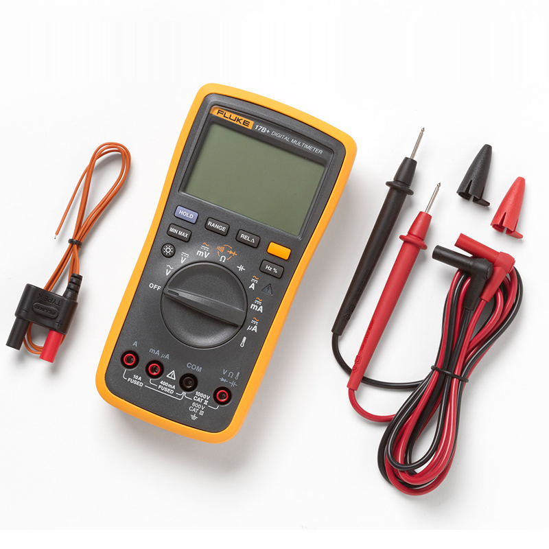 Fluke official flagship store Fluke 17B+ high-precision automatic multi-function digital multimeter недорго, оригинальная цена