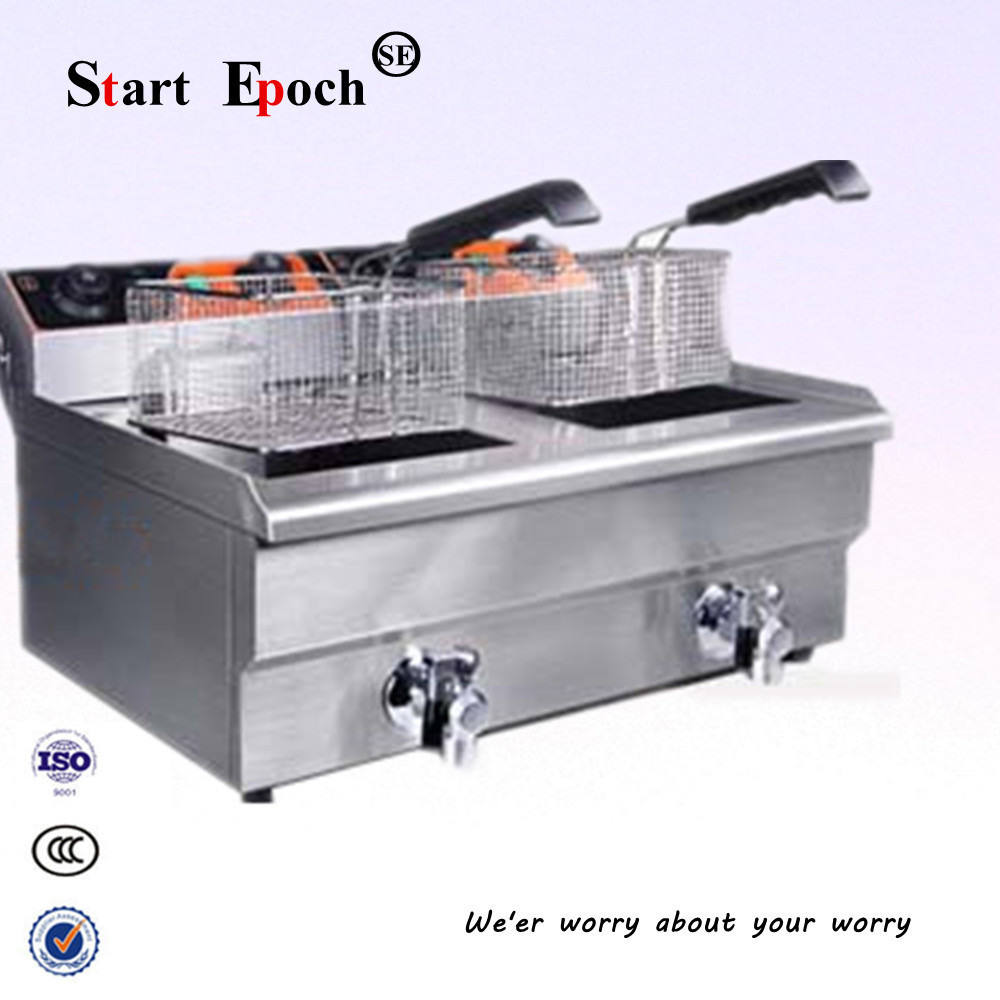 Free Shipping 26l Large Capacity Best Deep Fryer Double