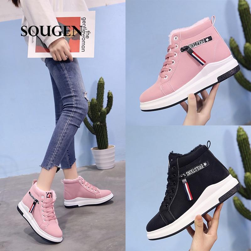 Femmes Tenis 2018 Plat Scarpe Feminino Donna Dames Ballerine Black pink Appartements Chaussures Sneakers Tq56wZq