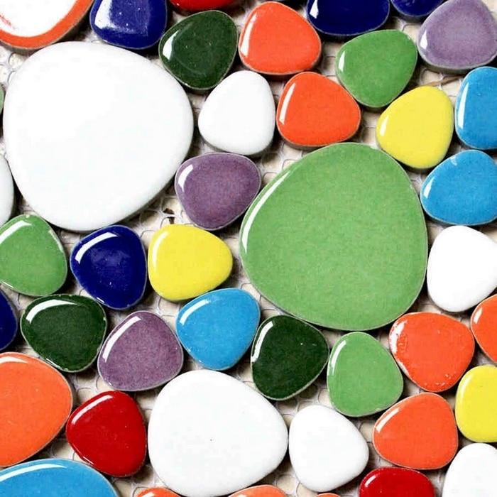 գունագեղ խառնուրդի գույներ խճաքար - Տնային դեկոր - Լուսանկար 3