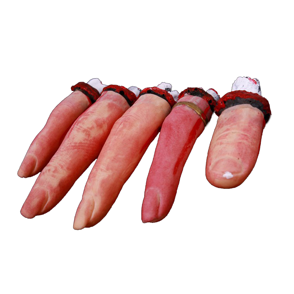 ZXZ 5pcs/set Body Parts Haunted House Halloween Props Lifesize Human ...
