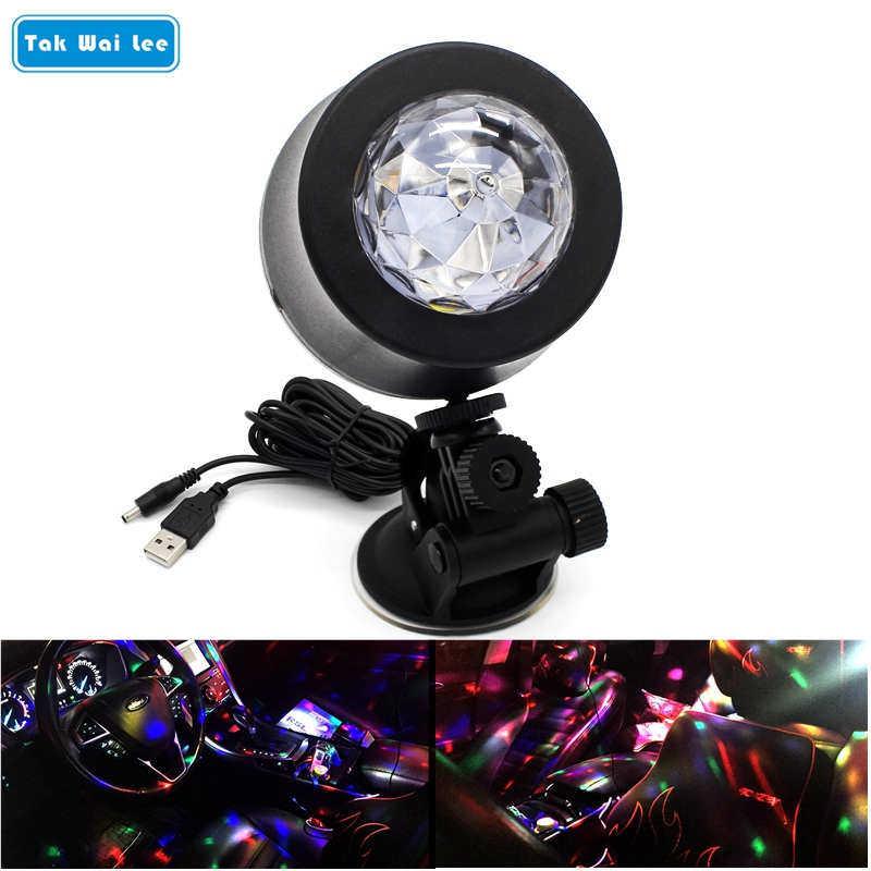 Us 998 36 Offtak Wai Lee Led Auto Dj Lichtquelle Musik Steuer Strobe Flash Usb Rgb Mp3 Club Disco Party Magic Ball Bulb Dome Lampe In Tak Wai Lee