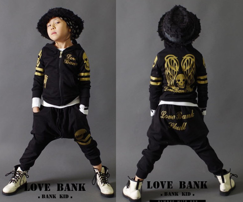 New spring autumn kids clothes sets children casual 2 pcs suit jackets hoodies pants set boys