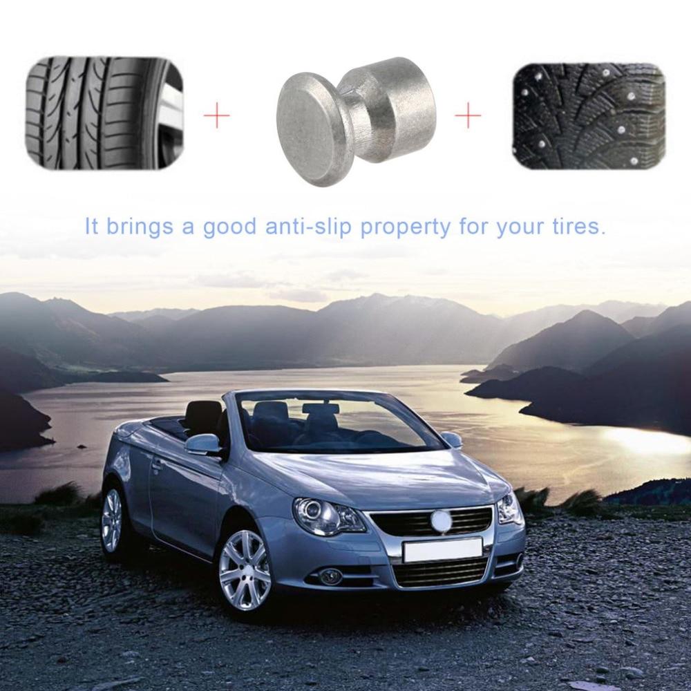 100Pcs 8mm Tire Stud Small Screws Metal Stud Anti-Slip Screws For Automobile Tire Stud Screws Auto Car Accessories Drop Shipping