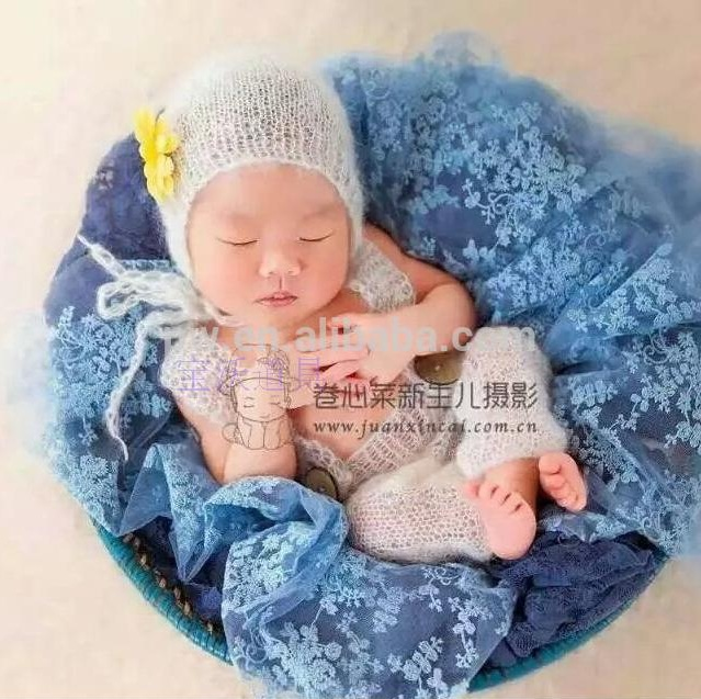 56c5796ce74 Baby Crochet Mohair Pants and Hat Newborn Handmade Baby Bonnet Newborn Baby  Sets-in Clothing Sets from Mother   Kids on Aliexpress.com