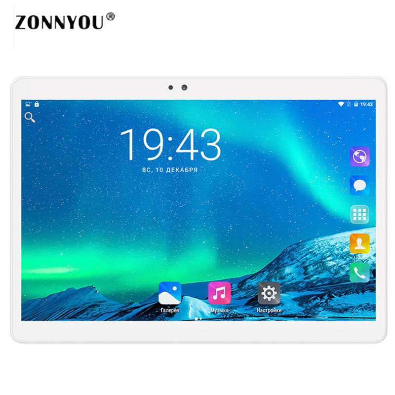 10 inch Tablet Google Android 6.0 3G Call LTE Octa Core 4GB RAM 32GB ROM IPS Kids Gift wi-fi GPS Tablets 10 10.1 смартфон asus zenfone live zb501kl золотистый 5 32 гб lte wi fi gps 3g 90ak0072 m00140
