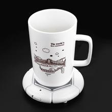 USB Настольный подогреватель чашек для кофе/чая подогреватель чашек нагреватель для напитков поднос для молока чай кофе кружка горячие напитки USB подогреватель чашек