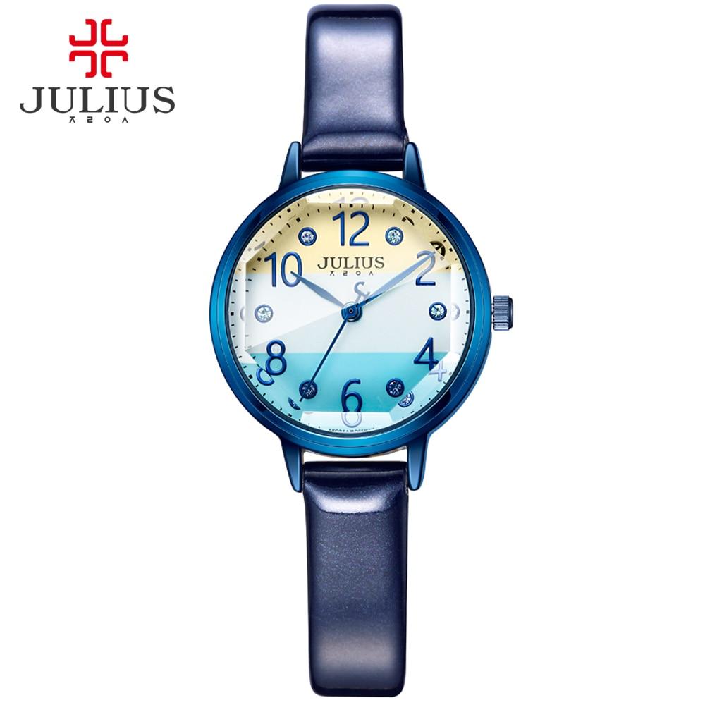 JULIUS Logo marca superior moda señoras Rosa oro relojes estilo strass relojes mujeres Precios relojes baratos China Dropship JA 930-in Relojes de mujer from Relojes de pulsera    3