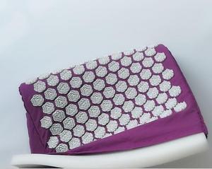 Image 4 - (67*42 cm) coussinets de Massage dacupuncture de ongles de Lotus coussin daiguille de Massage tapis de Massage de Yoga coussin de Massage dacupression