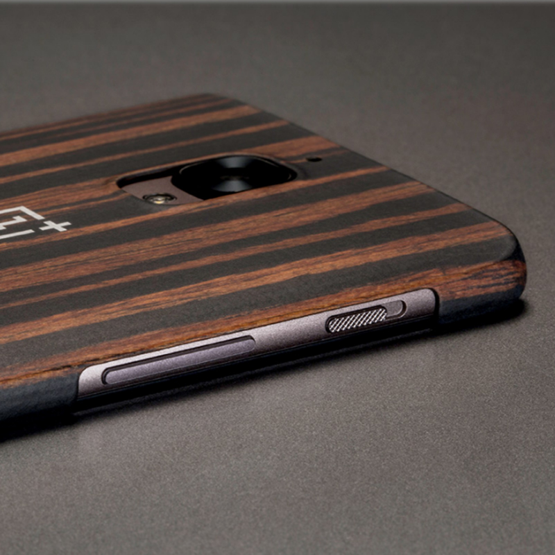 cheap for discount f5f8a 45da6 US $28.49 |100% Original For Oneplus 5 One Plus 5 Sandstone Back Case Cover  Ebony Wood/Rosewood/Karbon Matte Protective Accessories-in Fitted Cases ...