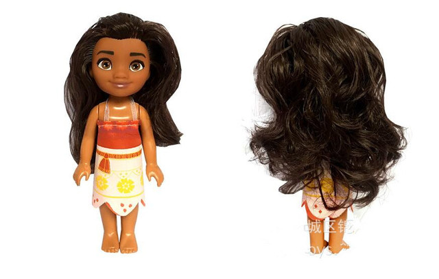 Free shipping Vaiana boneca Moana princess Doll Action Figure Toys Movie Anime toothless dragon toys children Christmas gifts