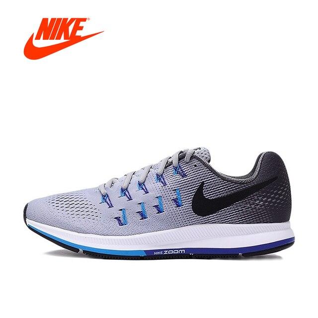 2017 Musim Panas Baru Asli Nike AIR ZOOM PEGASUS 33 Sepatu Pria di ... 6bd3e2d523