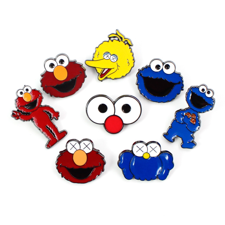 Pin On Cookie Monster: Aliexpress.com : Buy Sesame Street Badge Elmo Cookie