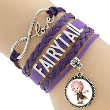 Fairy Tail Natsu Lucy Erza Scarlet Bracelet