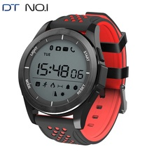 DTNO.1 F3 Smartwatch IP68 Waterproof Bluetooth Smart Watches Outdoor Sports Swimming Soft Silicone Strap Wearable Devices 2018