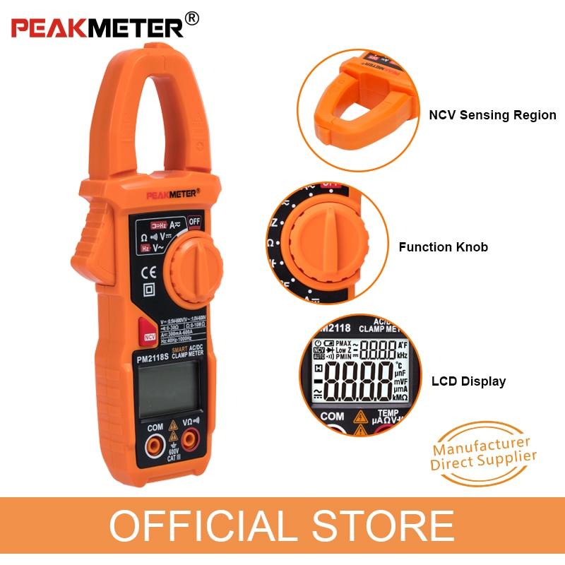 NUEVO PEAKMETER Medidor de pinza portátil inteligente AC / DC - Instrumentos de medición - foto 5