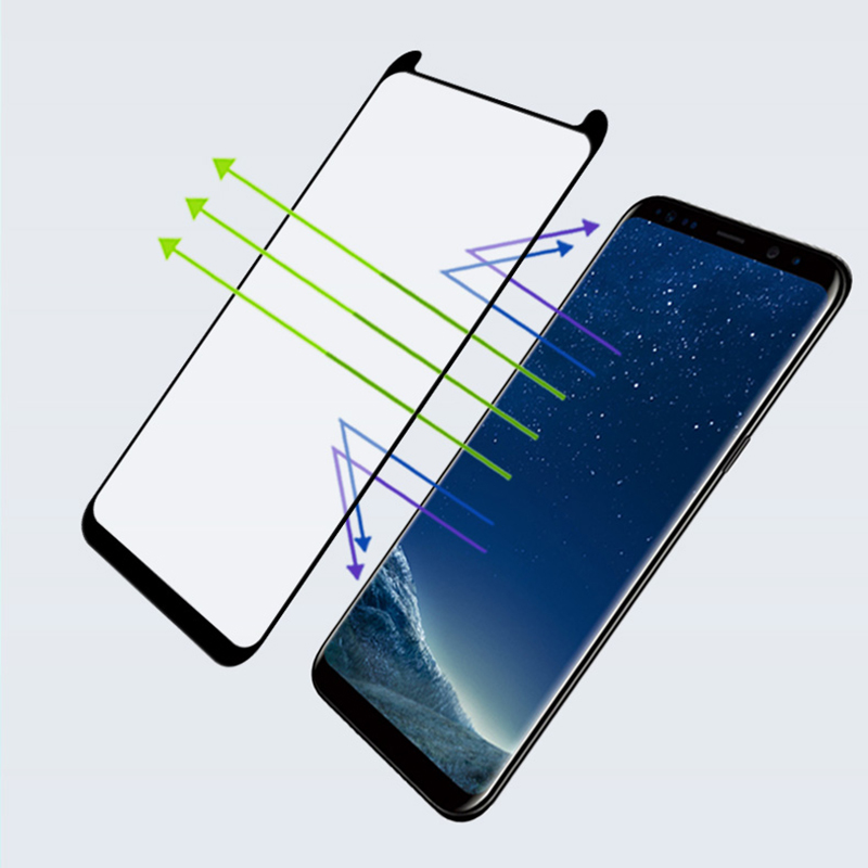 Suntaiho Tempered Glass for Samsung Galaxy Note9 S9+ S8 Plus Note 8 9 Screen Protector 3D Reduced version Tempered Glass