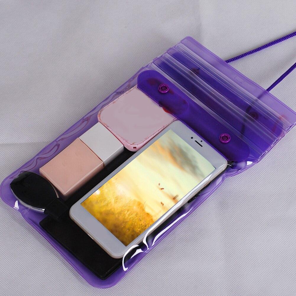 Swimming Bag Cosmetics Dustproof Songkran Festival Beach Rafting Dirtproof Outdoor Underwater Waterproof Dry Keys Phone Storage