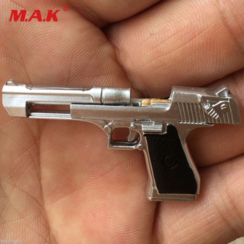 1:6 scale soldier figure gun command desert eagle pistol handgun weapon model fit for 1/6 12 action figure image
