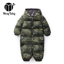 Winter Baby Boys Camouflage Jumpsuit Baby Keep Warm Romper infants Hooded flannel Thicker Clothes Toddler Girls Cotton Clothing волкова к сост всеобщая история 11 класс