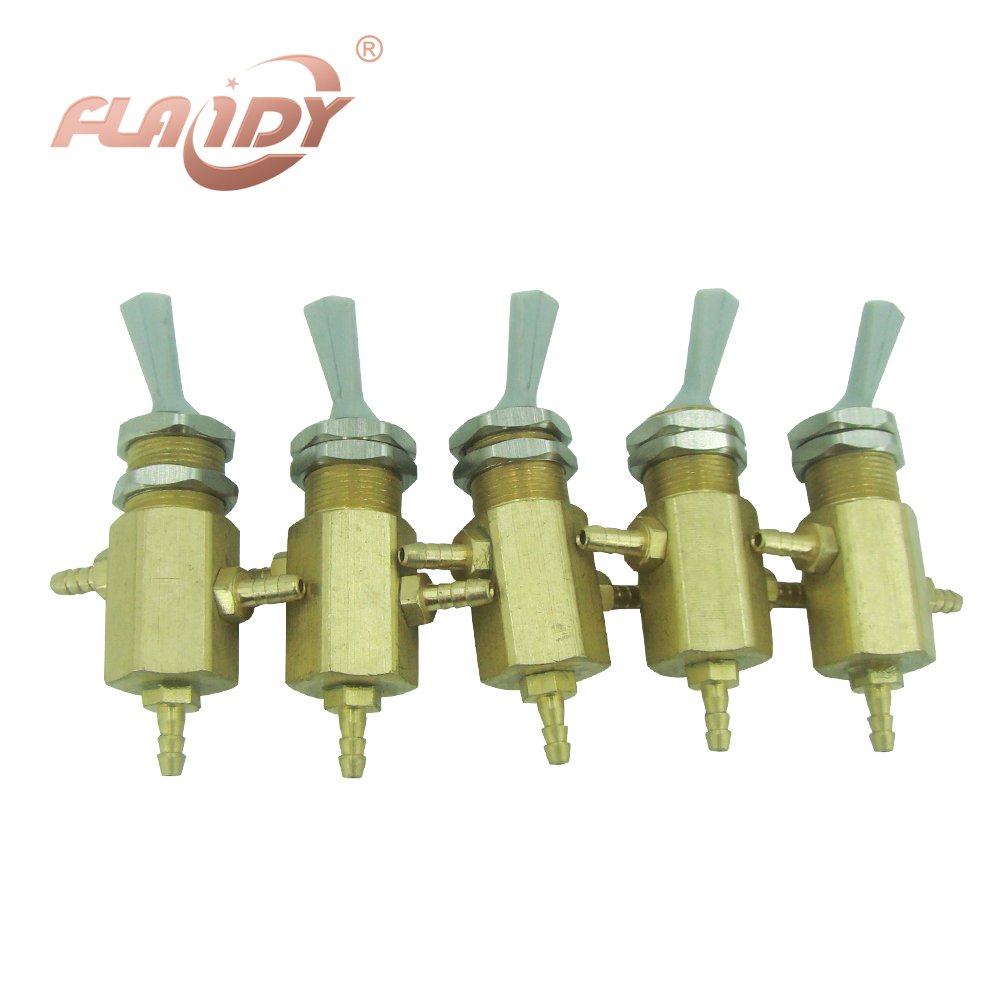 A0030 5PCS Dental unit water source Exchange switch Valve dental chair water adjustor dental equipment materials