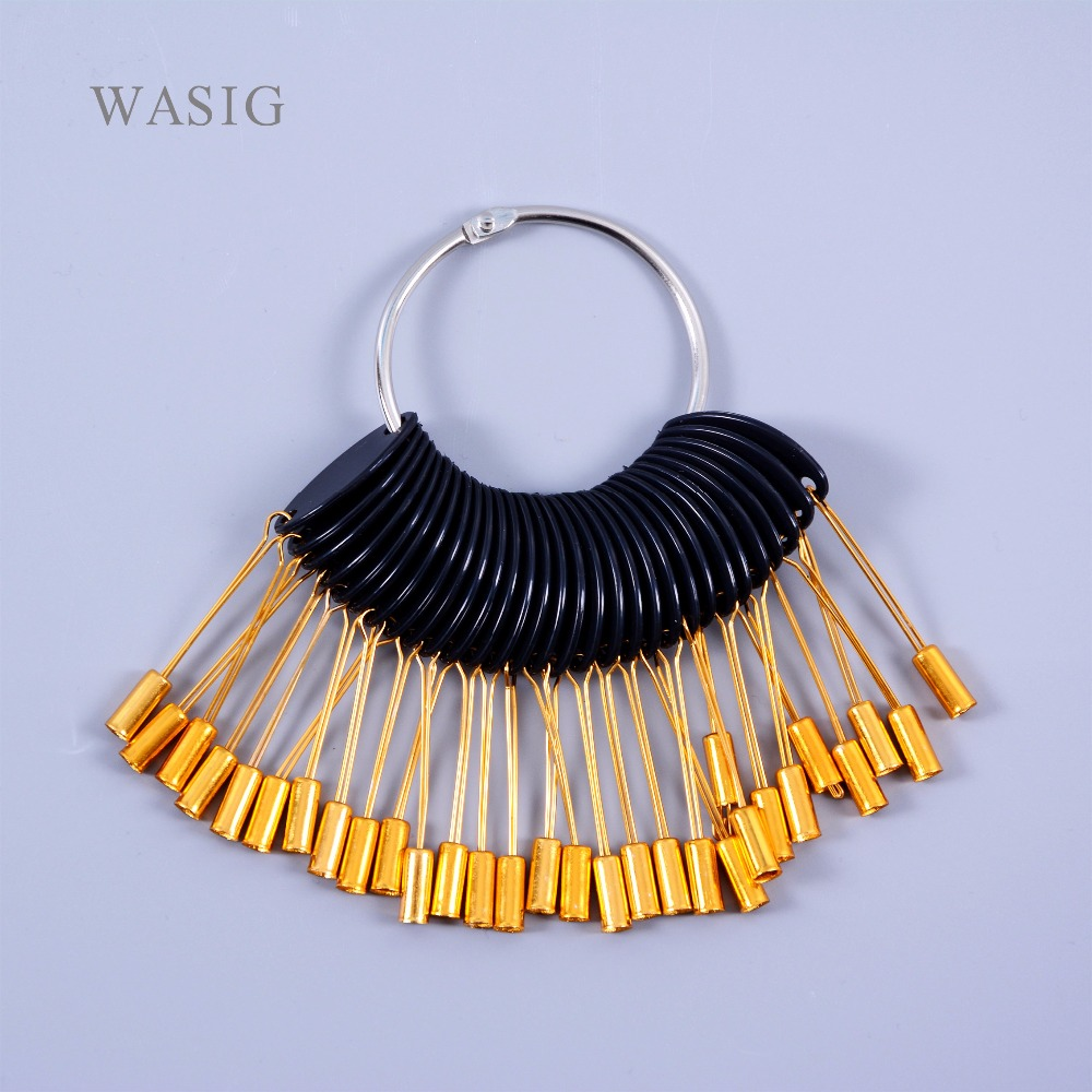 30 Pcs / Set Hair Color Ring  For Tool , Hair Color Ring Accessories (Golden Color)