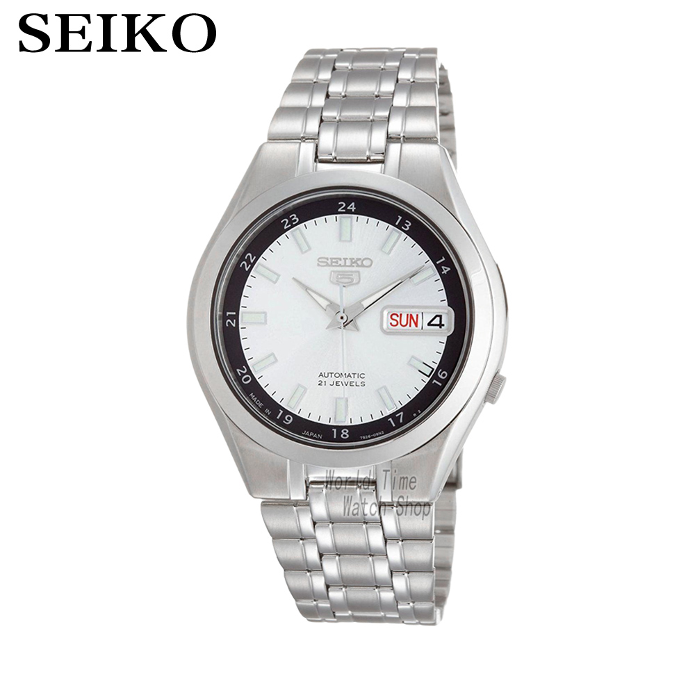 SEIKO 5 Automatic Steel Men's Watch Made in JAPAN SNKG17J1 SNKG19J1SNKG21J1 SNKG23J1SNKG31J1 SNKG33J1 [ pre sale november 11 delivery ] seiko watch seiko 5 automatic sports st aviator 24 jewels men s watch made in japan srp349j1