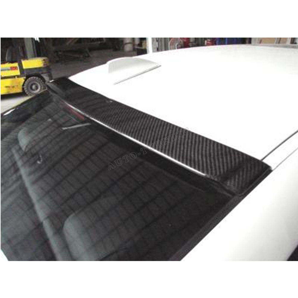 Car-styling Carbon Fiber Roof Spoiler Lip Wing for BMW 330i 3 Series E46  1999-2005 2005 2011 e92 performance style carbon fiber rear lip spoiler for bmw 3 series e92 coupe and e92 m3 316i 318i 320i 323i